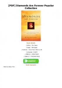 [PDF] Diamonds Are Forever Popular Collection