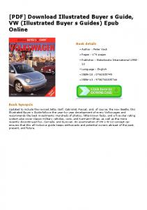 [PDF] Download Illustrated Buyer s Guide, VW