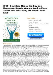 [PDF] Download Money Can Buy You Happiness