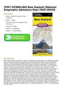 [PDF] DOWNLOAD New Zealand (National ...
