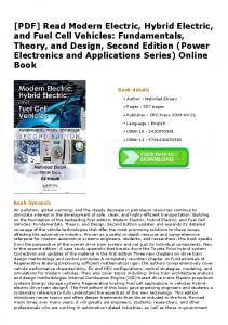 [PDF] Read Modern Electric, Hybrid Electric, and Fuel Cell Vehicles ...