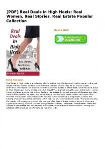 [PDF] Real Deals in High Heels: Real Women, Real Stories, Real ...