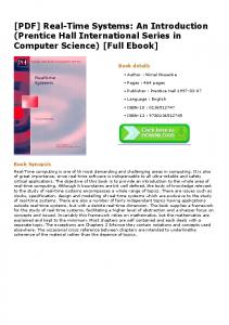 [PDF] Real-Time Systems