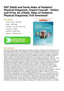 PDF Zitelli and Davis Atlas of Pediatric Physical ...