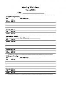 Planning Worksheet.xlsx -
