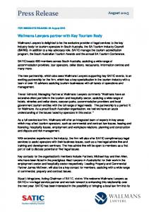 Press Release - South Australian Tourism Industry Council