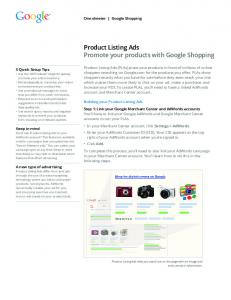 Product Listing Ads  Services