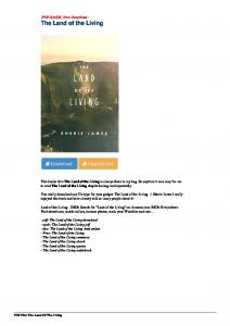 [Pub.76] Download The Land of the Living by by by by ...