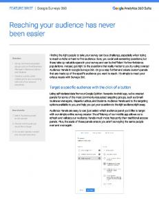 Reaching your audience has never been easier  Services