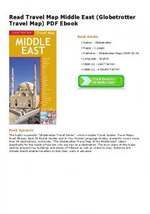 Read Travel Map Middle East (Globetrotter Travel Map ...