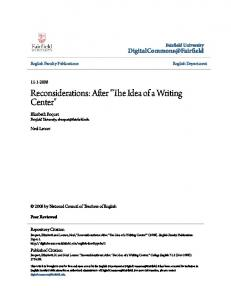 Reconsiderations- After The Idea of a Writing Center.pdf  ...