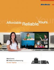 Reliable - Video Conferencing