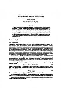 Renormalization group made clearer