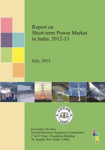 Report on Short-term Power Market in India - Central Electricity ...