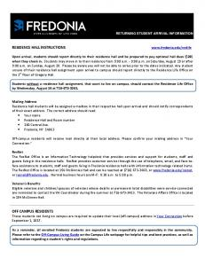 Returning Student Arrival Information Fall 2017.pdf