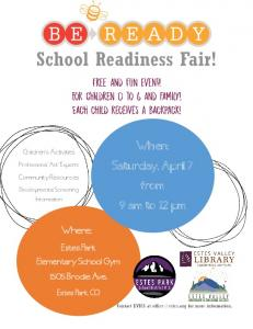 Saturday, April 7 from 9 am to 12 pm -