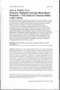 Science, Religion and the Mind-Brain Problem -- The Case of Thomas ...