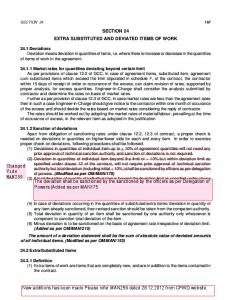 SECTION 24 EXTRA SUBSTITUTED AND DEVIATED ITEMS ... - Groups