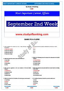 September 2nd Week Current affairs.pdf