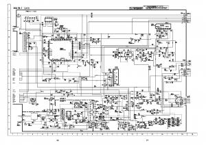 Skema TV SHARP schematic main board 29AF200(GB ...