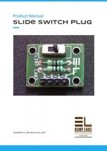 Slide switch plug