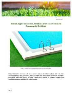 Smart Applications for Artificial Turf in 3 Common Commercial ...