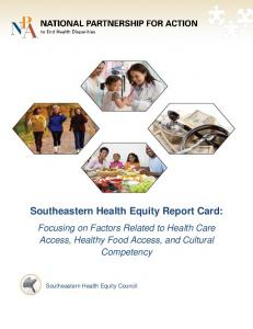 Southeastern Health Equity Report Card