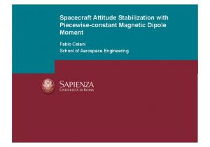 Spacecraft Attitude Stabilization with Piecewise ...