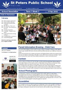 SPPS Newsletter Term 1 - Week 2 - 2018.pdf