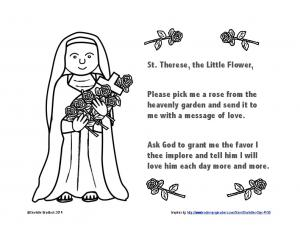 St. Therese Pray Color sheet.pdf