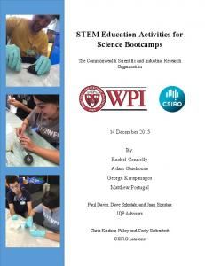 STEM Education Activities for Science Bootcamps - WPI.pdf ...