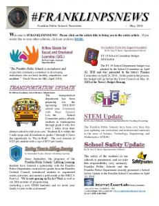 STEM Update - Franklin Public Schools