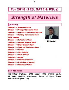 Strength of Materials 2018 by S K Mondal.pdf