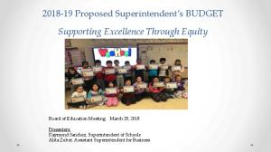 Superintendent's Proposed 2018-2019 District Budget Presentation.pdf