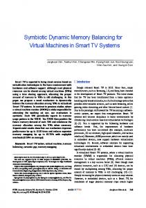 Symbiotic Dynamic Memory Balancing for ... - Wiley Online Library