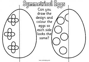 Symmetrical Eggs - Instant Display