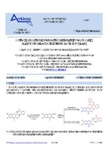 Synthesis and anti-microbial / anti-malarial activity of a new ... - Arkivoc