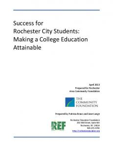 Tackling the Lack of College and Career Knowledge - Making ...