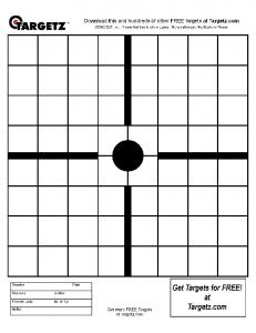 Targetz Catalog Shapes.cdr - Louis Candell