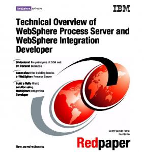 Technical Overview of WebSphere Process Server ... - IBM Redbooks