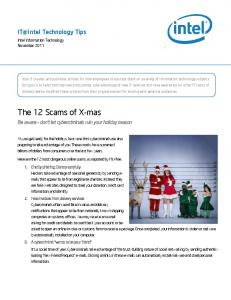 The 12 Scams of X-mas - Media11