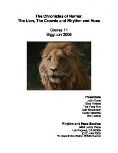 The Chronicles of Narnia - ACM Digital Library