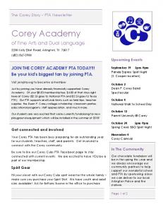 The Corey Story Monthly Newsletter - September 2017.pdf  ...
