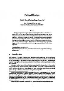 The Dynamics of Policy Complexity