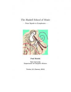 The Haskell School of Music - The Yale Haskell Group - Yale University