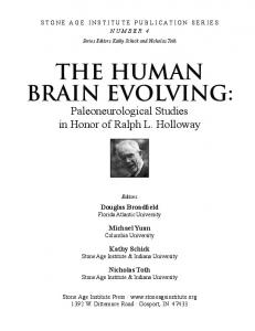 the human brain evolving - John Allman