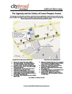 The Ingenuity and the Artistry of Lower Prospect Avenue - CityProwl ...
