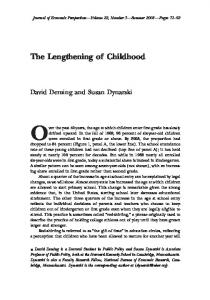 The Lengthening of Childhood.pdf