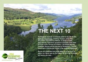 THE NEXT 10 - New Generation Plantations