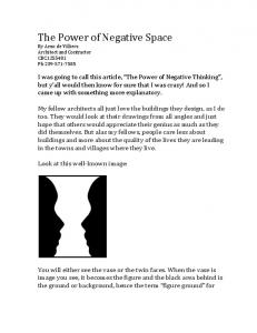 The Power of Negative Space.pdf
